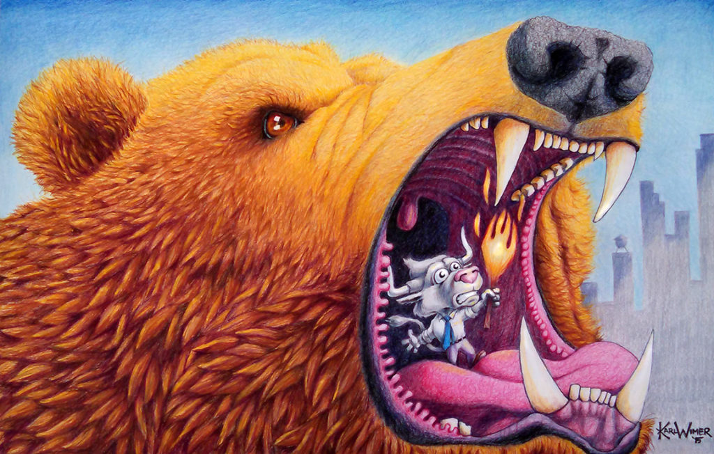 mouth of bear color