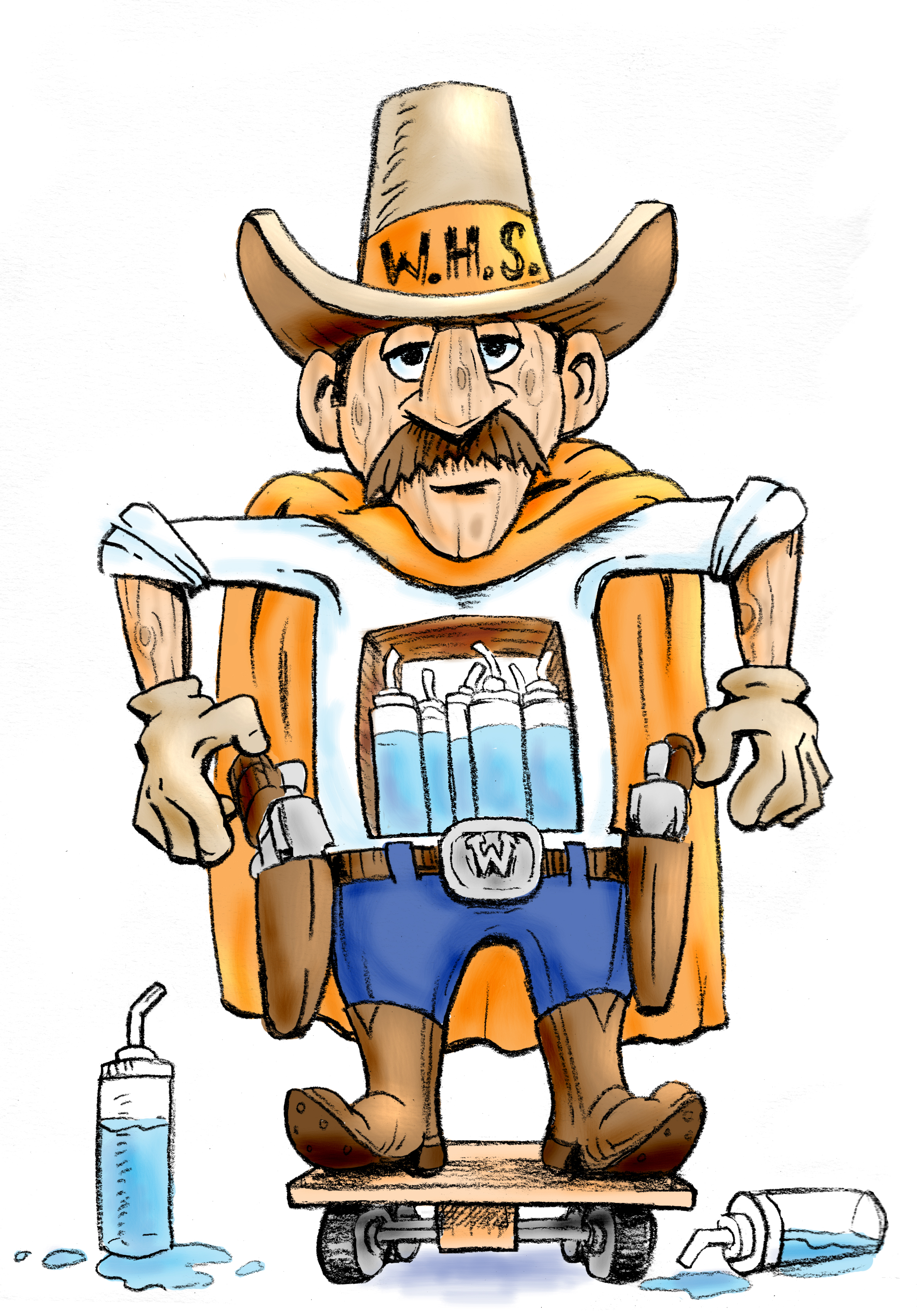 cowboy water cooler