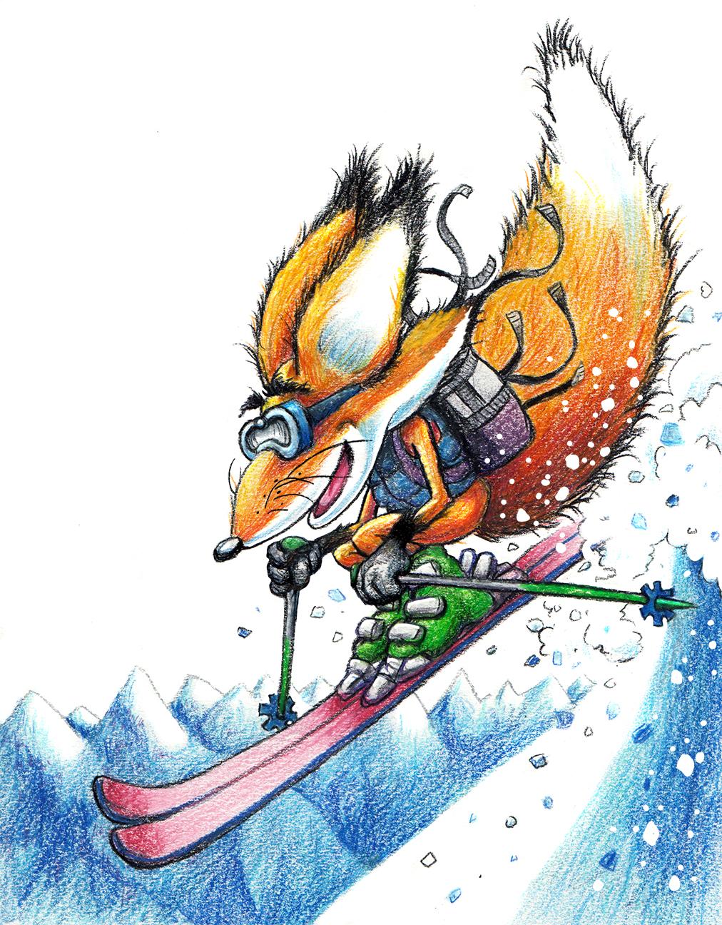 free ski sammy 16 sm