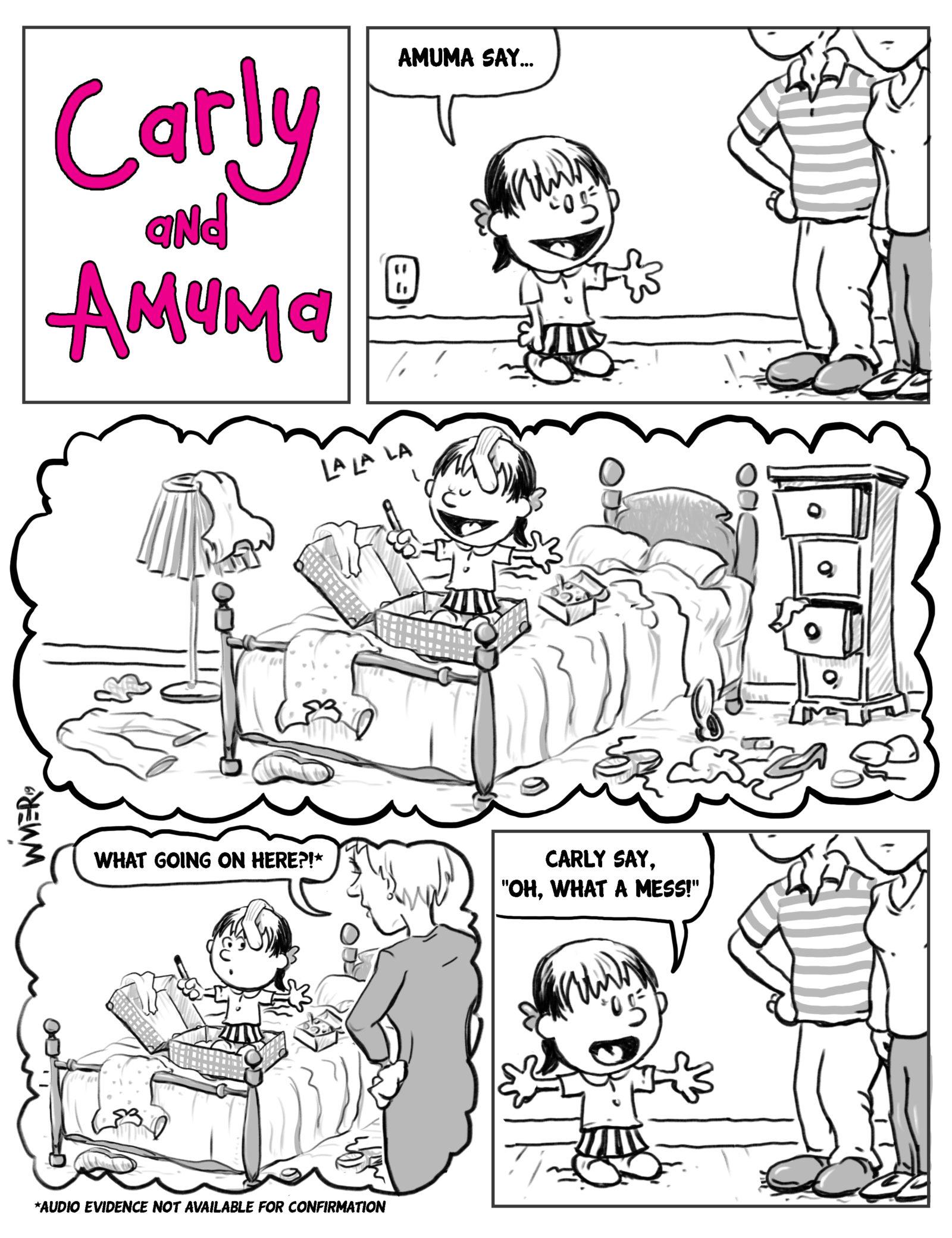carly and amuma