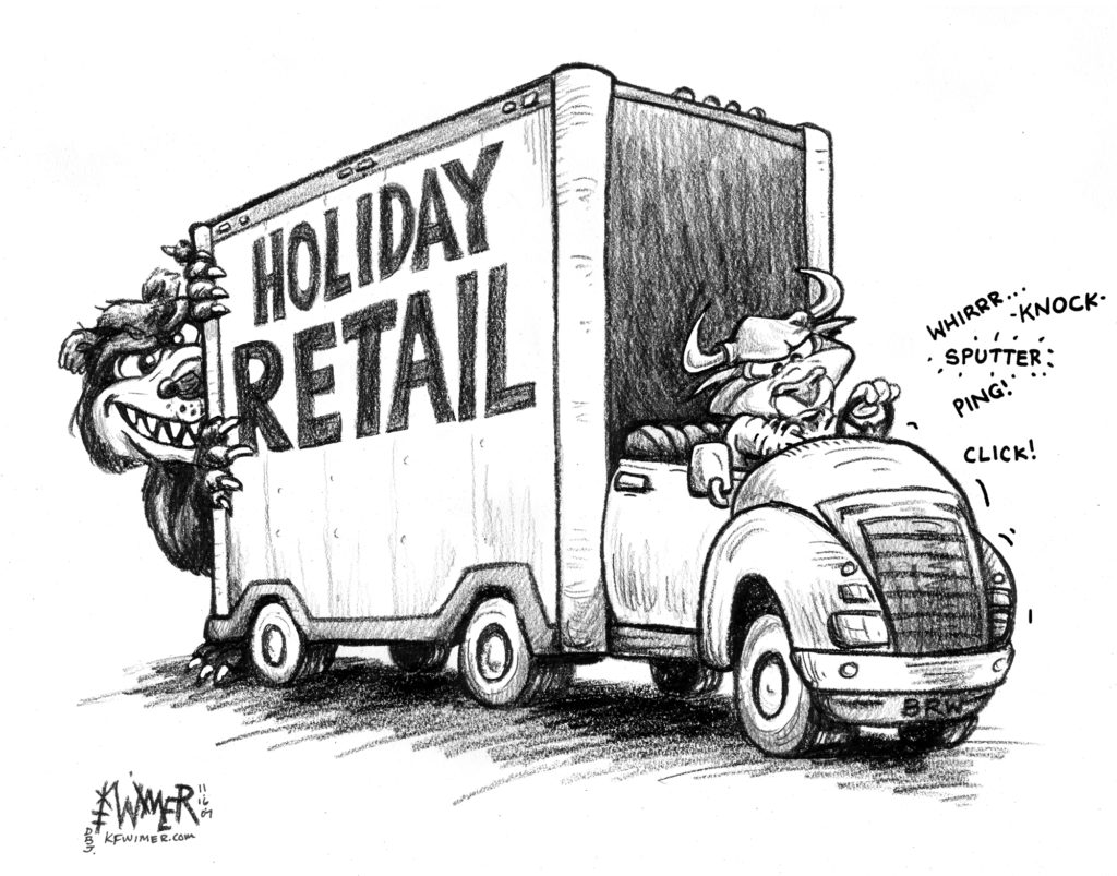 Holiday Retail Stalled