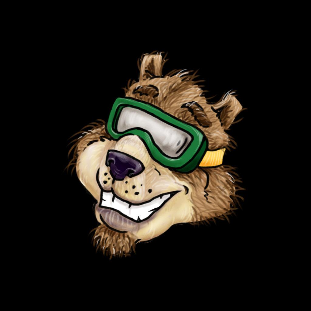bear stickerhead