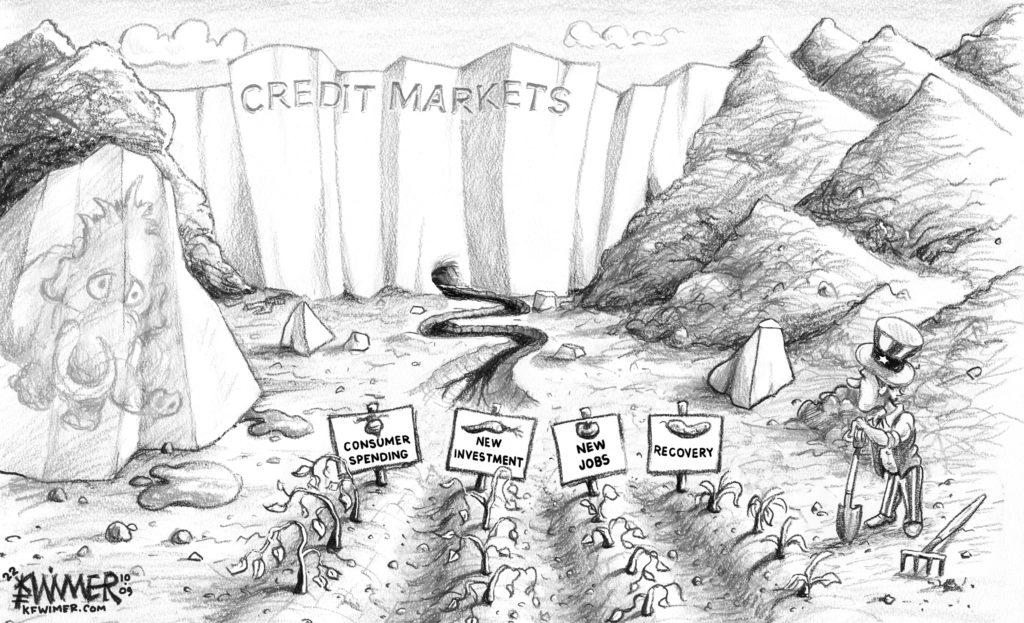 Credit Market Glacier