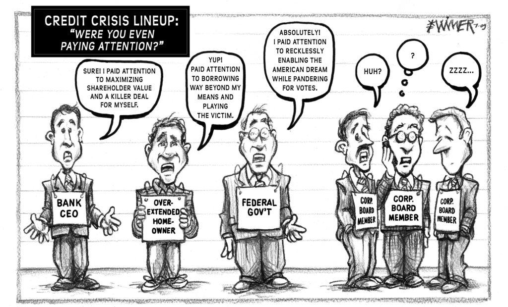 Credit Crisis Lineup