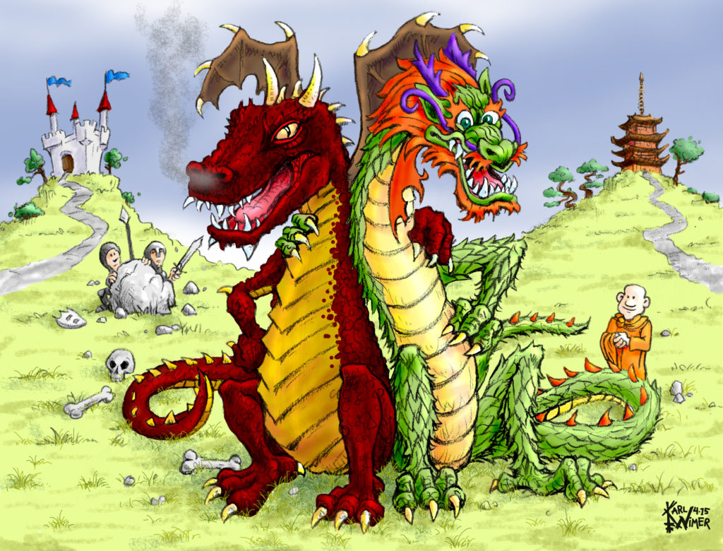 eastwest dragons
