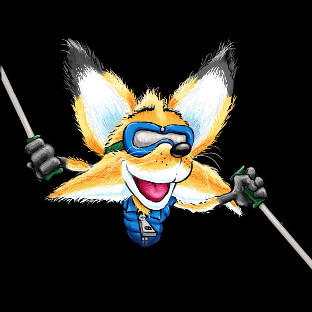 fox stickerhead