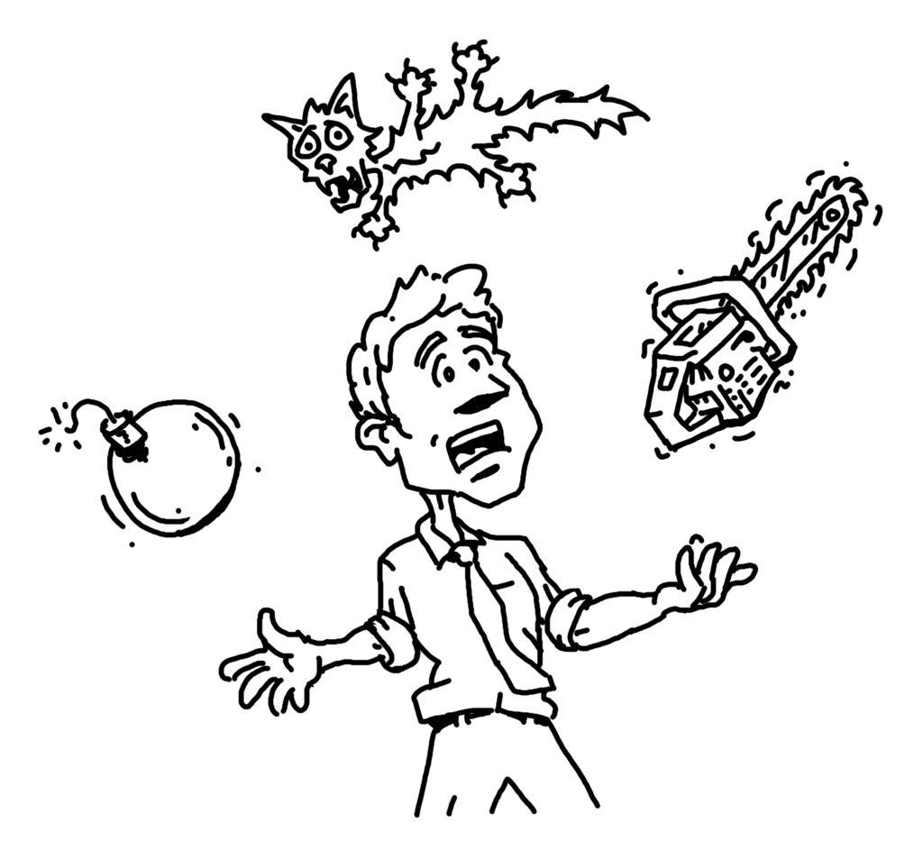 juggling crazy