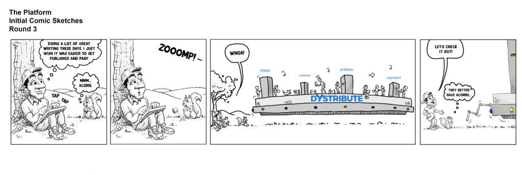 platform comic round 3 first comic