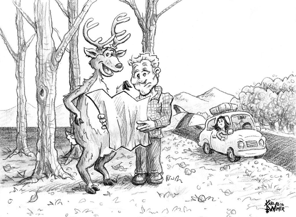 bt deer map