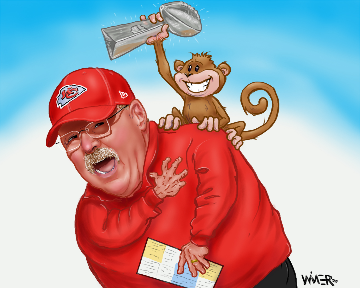 A week before the Super Bowl and Andy Reid is back for another swing at the big hardware, after barely missing with the Eagles 16 years ago, and deep runs in the playoffs with the Chiefs. After 21 years as head coach and arguably top 3 in the profession, can his team break through and shake that monkey off his back?