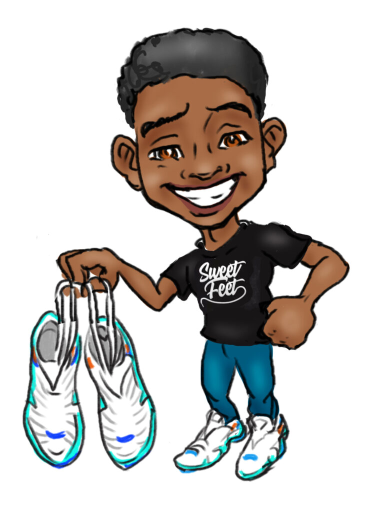 shoe kid