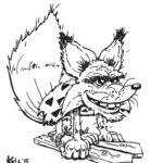 caveman fox