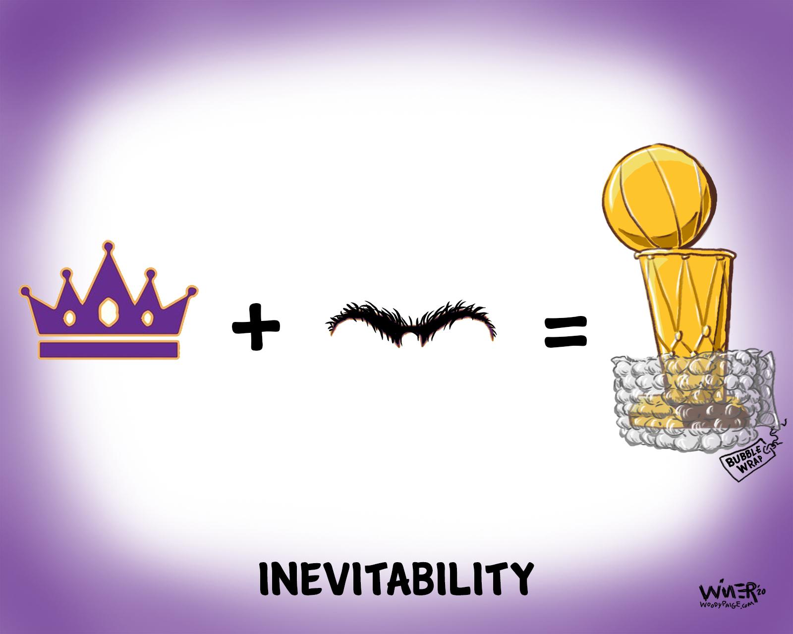 The King & Brow NBA Championship