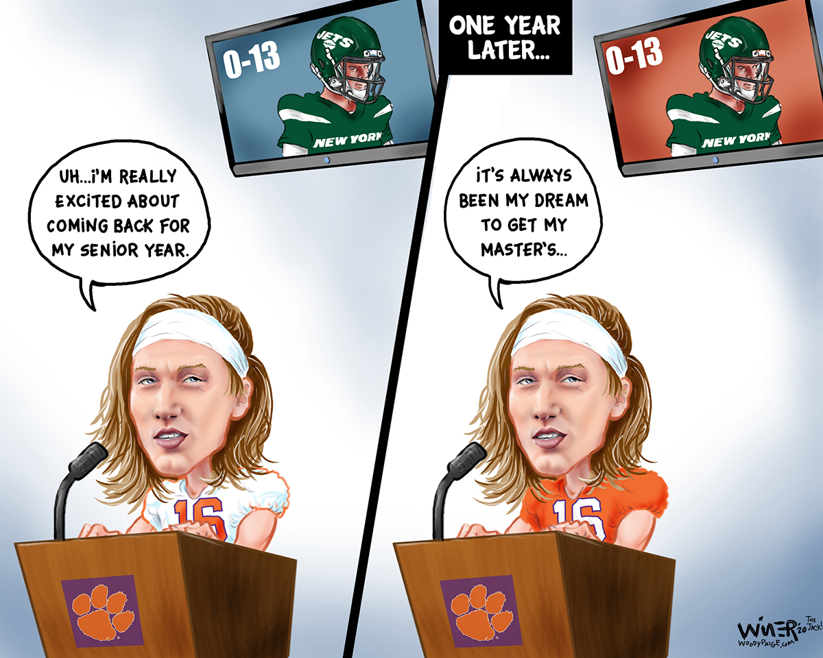 Trevor Lawrence Considers Future With Hapless New York Jets