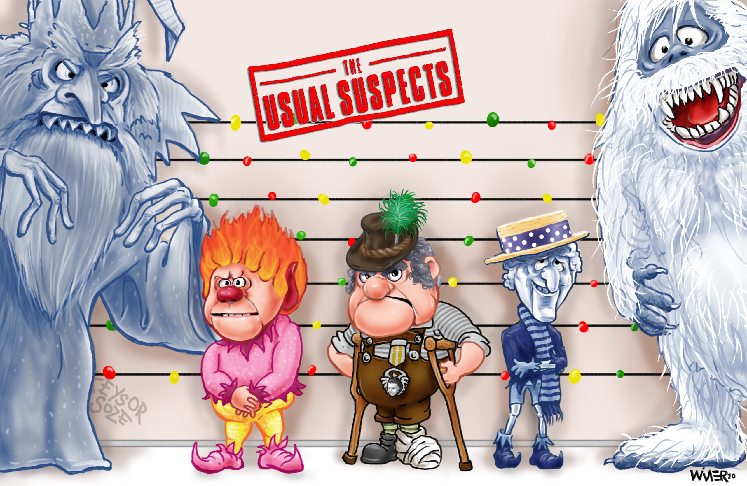 usual christmas suspects 1a