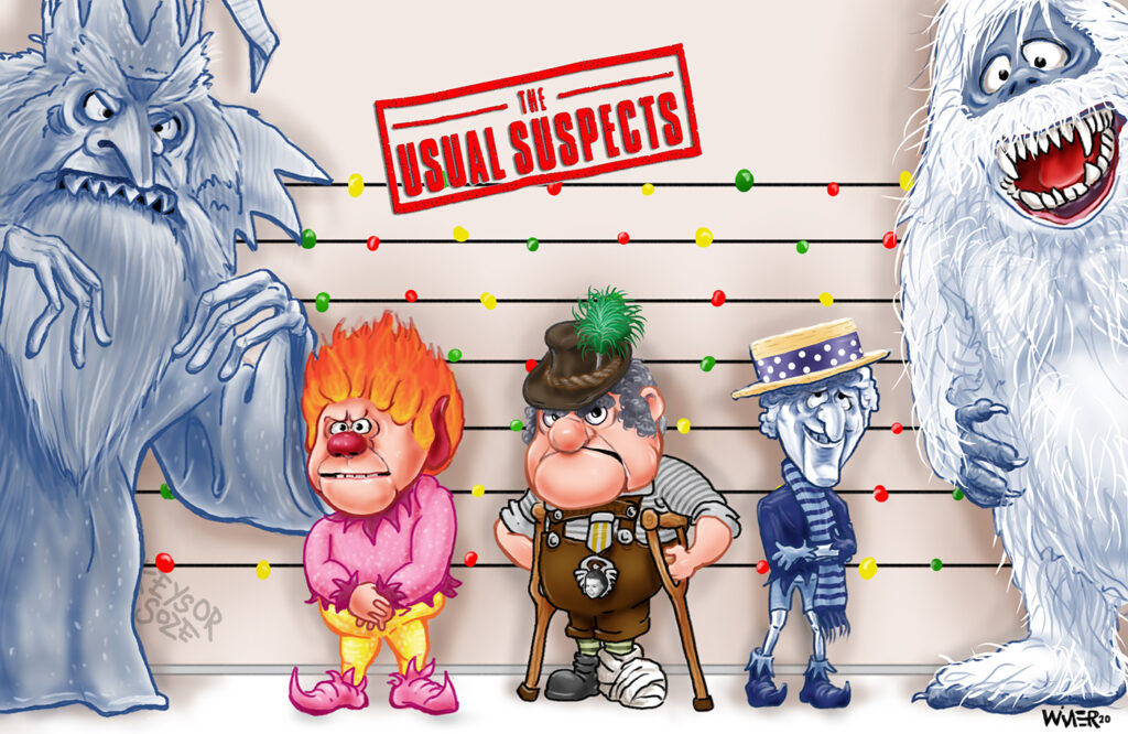 usual christmas suspects sm