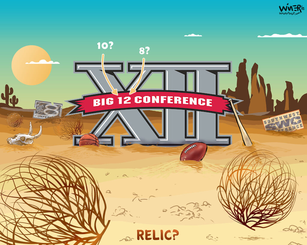 The Big 12 is dead. Texas & OU said goodbye, who's next for the exits?
